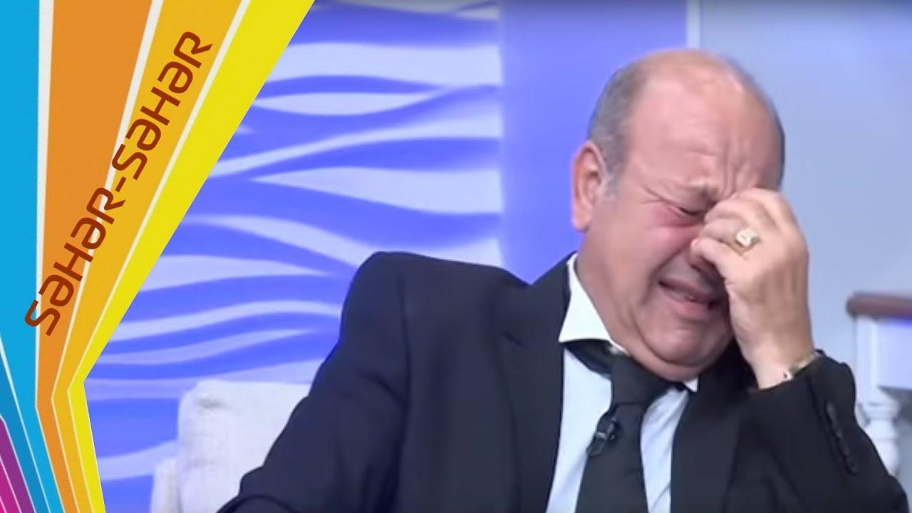 Eli Mireliyev efirde agladi - Seher-seher - ARB TV
