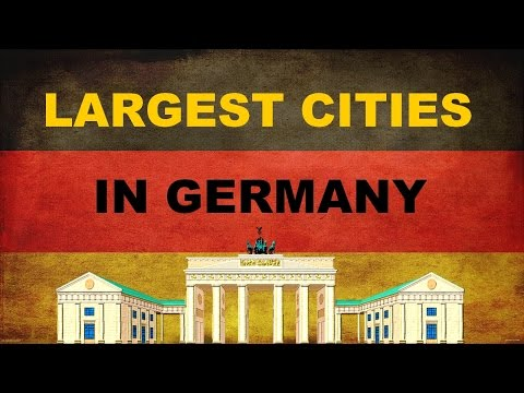 TOP 10 LARGEST CITIES IN GERMANY | TOP 10 GROßTEN STÄDTE IN DEUTSCHLAND
