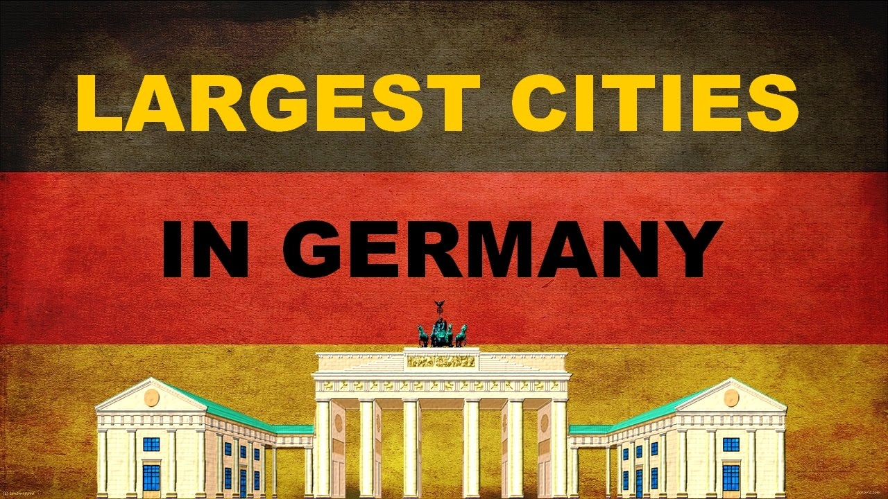 top 10 largest cities in germany top 10 gro ten st dte in deutschland youtube. Black Bedroom Furniture Sets. Home Design Ideas