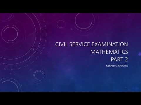 Civil Service Examination Review Tutorial Part 2 thumbnail