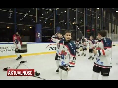 Młodzi hokeiści z Sanoka najlepsi w Polsce