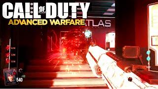 exo zombies gameplay cel 3 cauterizer upgraded to level 12 advanced warfare cod aw