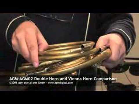 Double Horn - Vienna Horn Comparison