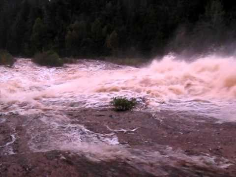 Hurricane Igor, Manuels River, Conception Bay South, Newfoundland, September 21, 2010