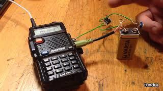 Тест внешней схемы управления передачей радиостанции по COM порту (RTS/DTR)