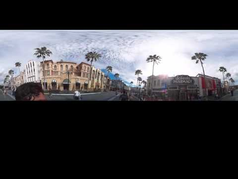 360 VR Tour Universal Studios Florida
