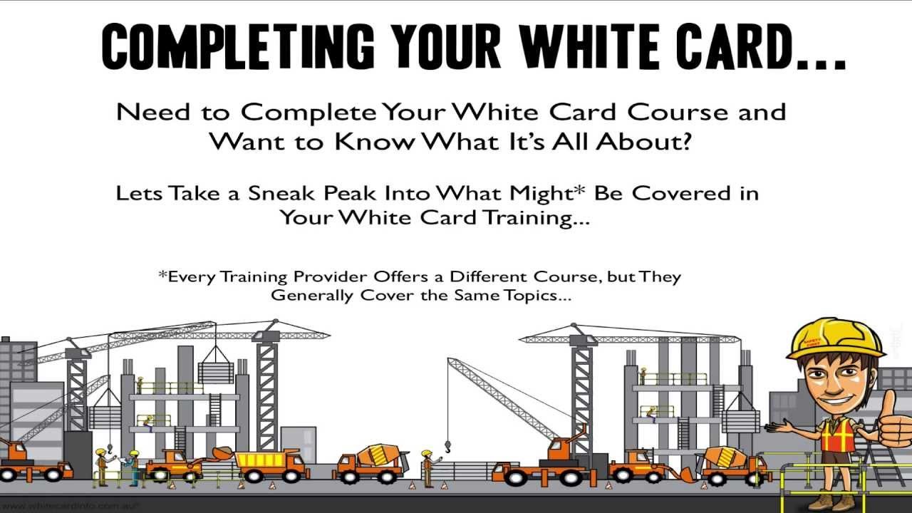 Looking for White Card Answers? | White Card Safety Training