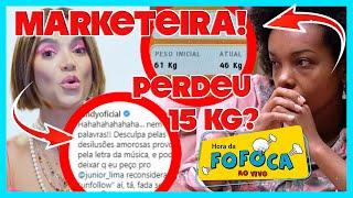 Thelma chora de fome, fake news viraliza e Globo intervém+ Manu dá bronca em Júnior e Sandy a exalta