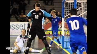 Amichevole Italia vs Slovacchia calcio a 5