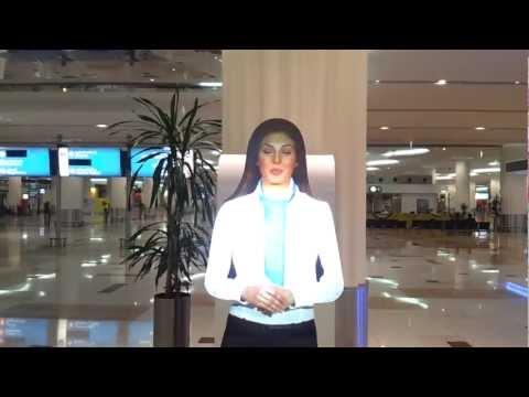 Dubai Airport - information desk