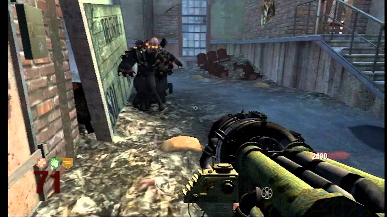 Call of Duty Black Ops Wii Zombies