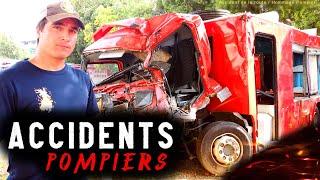 Vidéo Accident De La Route : Les POMPIERS VICTIMES de la route Lors d'interventions, Mon Hommage.