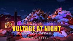 Voltage at night - Planet Coaster [Mine train coaster]