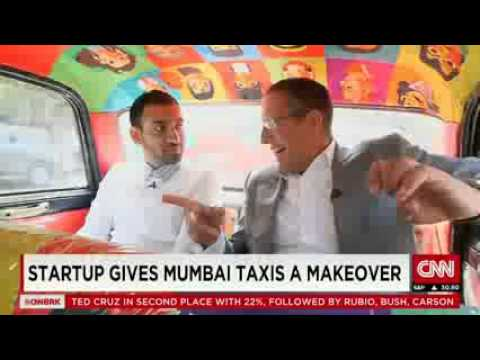 Startup gives Mumbai taxis a makeover