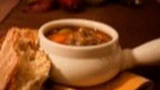 Mushroom Barley Soup: Soup's On #3