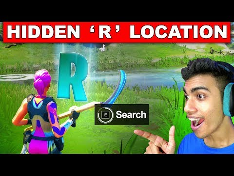 Search Hidden 'R' Found In The Forged By Slurp Loading Screen- Location Fortnite Chapter 2 Season 1