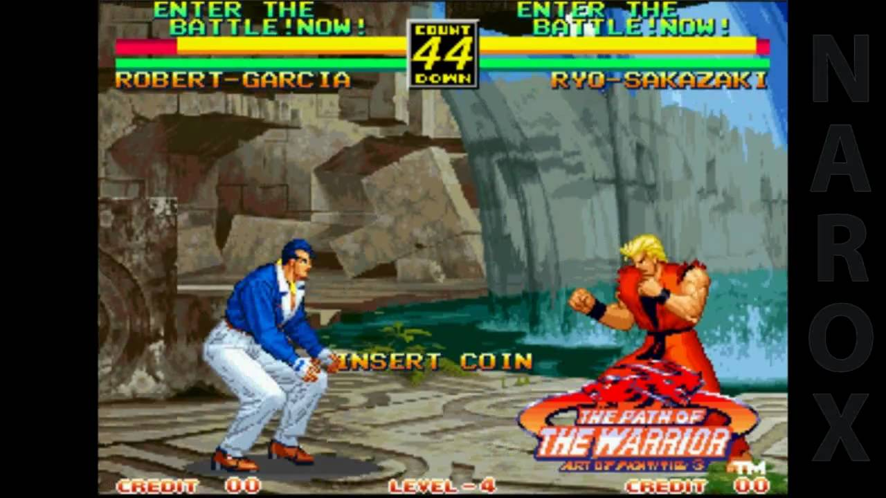 Art Of Fighting 3 The Path Of The Warrior Arcade Attract Mode