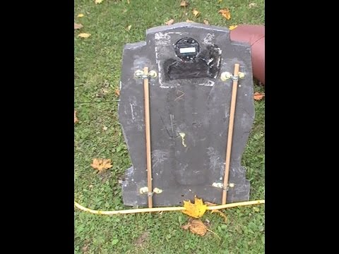 How I Fixed/Replaced My Busted Halloween Tombstones Stakes.