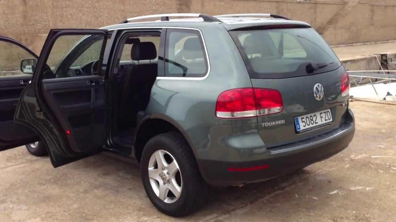 2006 VW TOUAREG 3.0 TD V6 TIPTRONIC 4X4 LHD FOR SALE IN SPAIN - YouTube
