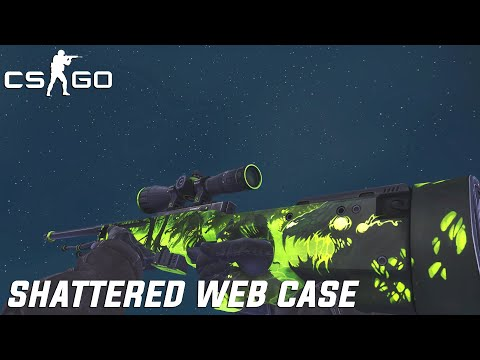 CS:GO - SHATTERED WEB CASE [All Skins Showcase]