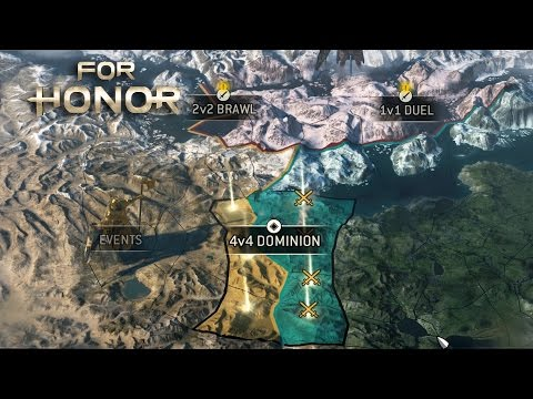 For Honor Beta - All Maps and Game Modes (Custom Match Options)