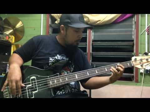 AKIM & THE MAJISTRET - POTRET BASS COVER