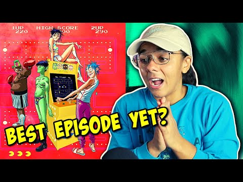 What is Schoolboy Q doing on Gorillaz Song Machine Ep 5? | Pac Man (Reaction)