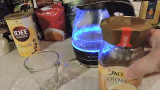 CREMA GOLD - how to made JACOBS COFFEE