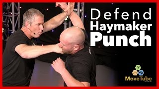 How to Block the Haymaker Punch! - Self Defense 💪
