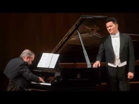 """Piotr Beczała & Helmut Deutsch (fortepian): """"Diechterliebe"""" - Schumann"""