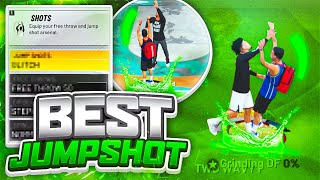 GREENS FROM HALFCOURT w/ The BEST JUMPSHOT in NBA 2K21!! 100% GREENS! BEST JUMPSHOT FOR ALL BUILDS!