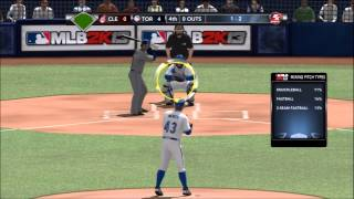 MLB 2k13 R.A. Dickey Perfect Game -Pro level-