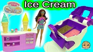 Big Fail Video - Ice Cream Maker Machine Makes Real Food for Disney Frozen Kristoff & Anna Dolls