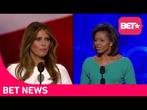 #FamousMelaniaTrumpQuotes Set Twitter On Fire After She Stole Michelle Obama's Speech