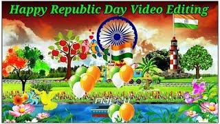 Happy Republic Day Video Editing tutorials || Kinemaster video editing tutorials
