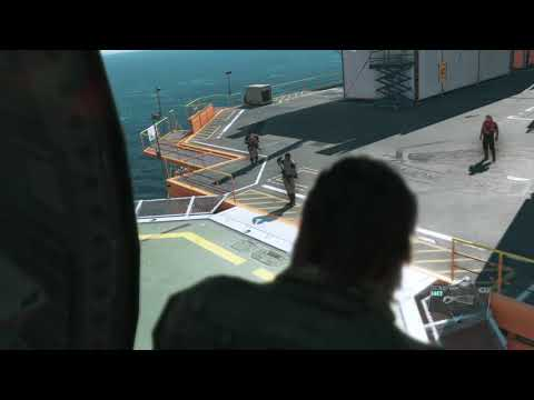 Offshore Platform in Metal Gear Solid Gameplay