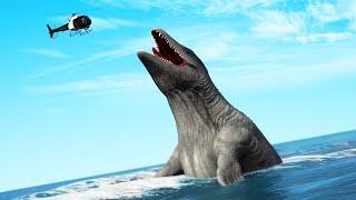 GTA 5 - PLAYING as a GIANT SEA MONSTER! (Mod)