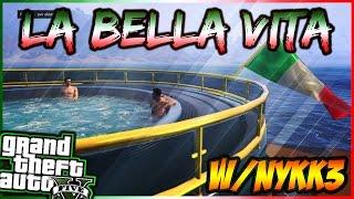 LA BELLA VITA CON NYKK3 - GTA 5 ITA CAZZEGGIO #26 | ALEX ZI
