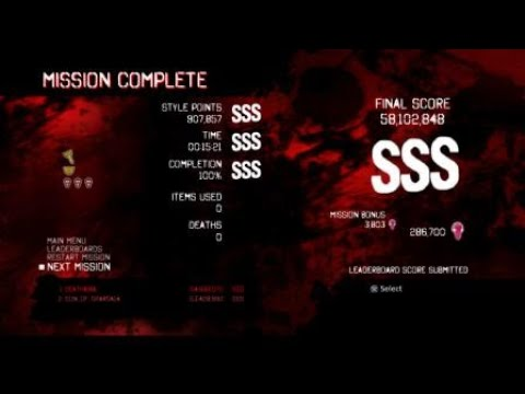 DmC Devil May Cry DE GMD(Dante) Mission 18 SSS Rank Clear |