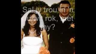 Sal jy bly.....  with love to my beautiful wife