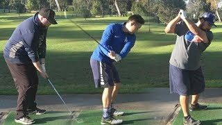 PLAYING GOLF WITH BOBBY CROSBY AND DUSTIN | BENNY NO | VLOG #134