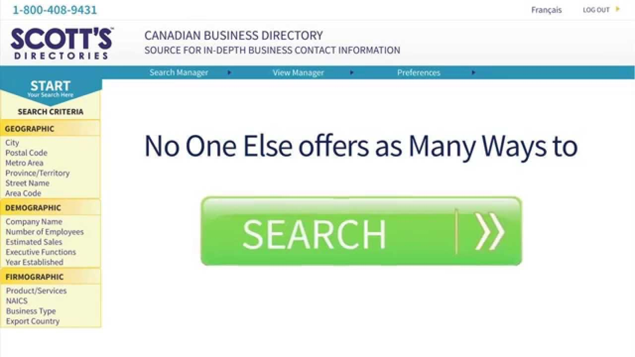 Scott's Canadian Business Directory™