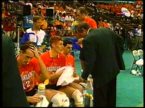 1996 Olympic Games Volleyball Netherlands - Italy set 3