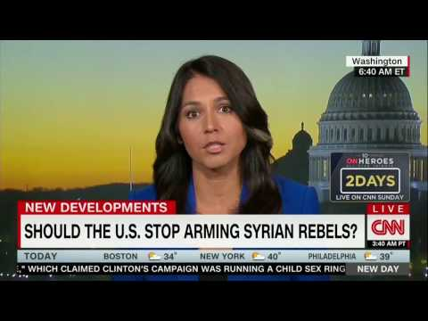 Tulsi Gabbard on CNN New Day talking about her new bill, Stop Arming Terrorists Act