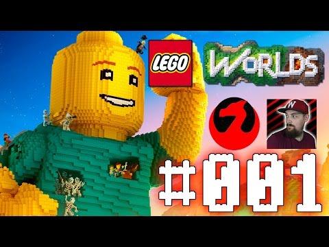 LEGO WORLDS PART 1 - DRACHENBURSCHE AUS DEM WELTALL | Let´s Play Lego Worlds Deutsch