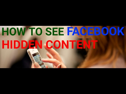 How to track Facebook friend hidden content-Facebook message page video  post likes