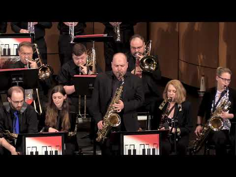 """""""Filthy McNasty"""", John LaBarbera With The Williamsport City Jazz Orchestra"""