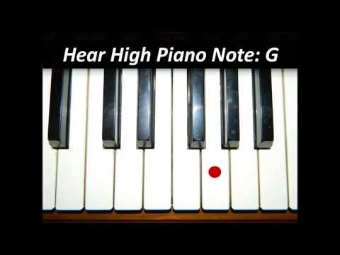 Hear Piano Note - High G