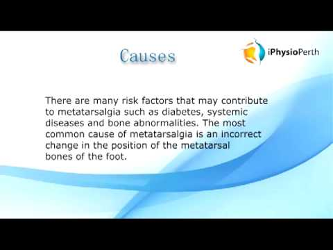 Physiotherapy for Metatarsalgia | Call (08) 9444 8729 for expert Perth Physio TODAY.