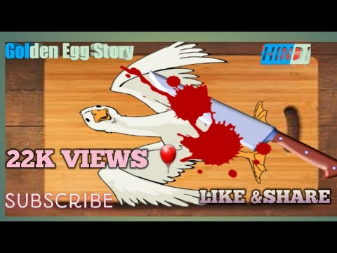 Golden Egg Story I Sone Ka Anda I Hindi Stories With Moral | Story For Kids In Hindi